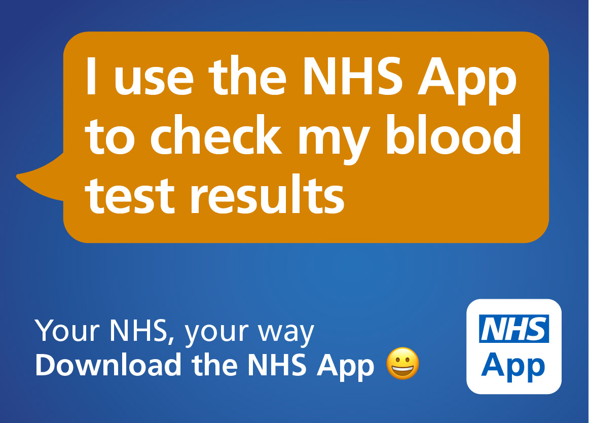 NHS APP blood